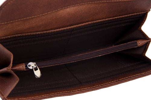 Image of Handcrafted Wholesale Genuine Leather Wallet Long Wallet Men Wallet Card Holder 9066