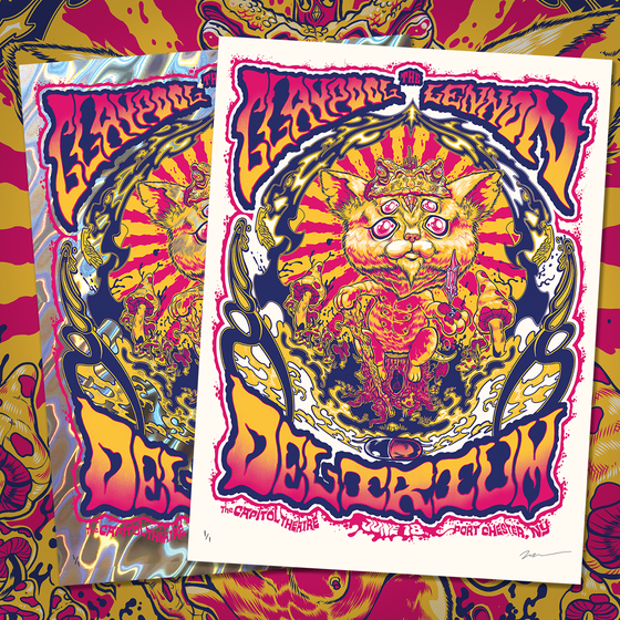 Image of The Claypool Lennon Delirium , June 2016 Print