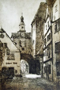 Image of Roder Arch, Rothenburg, Germany