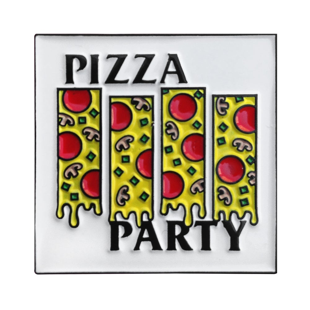 Image of Pizza Party Pin
