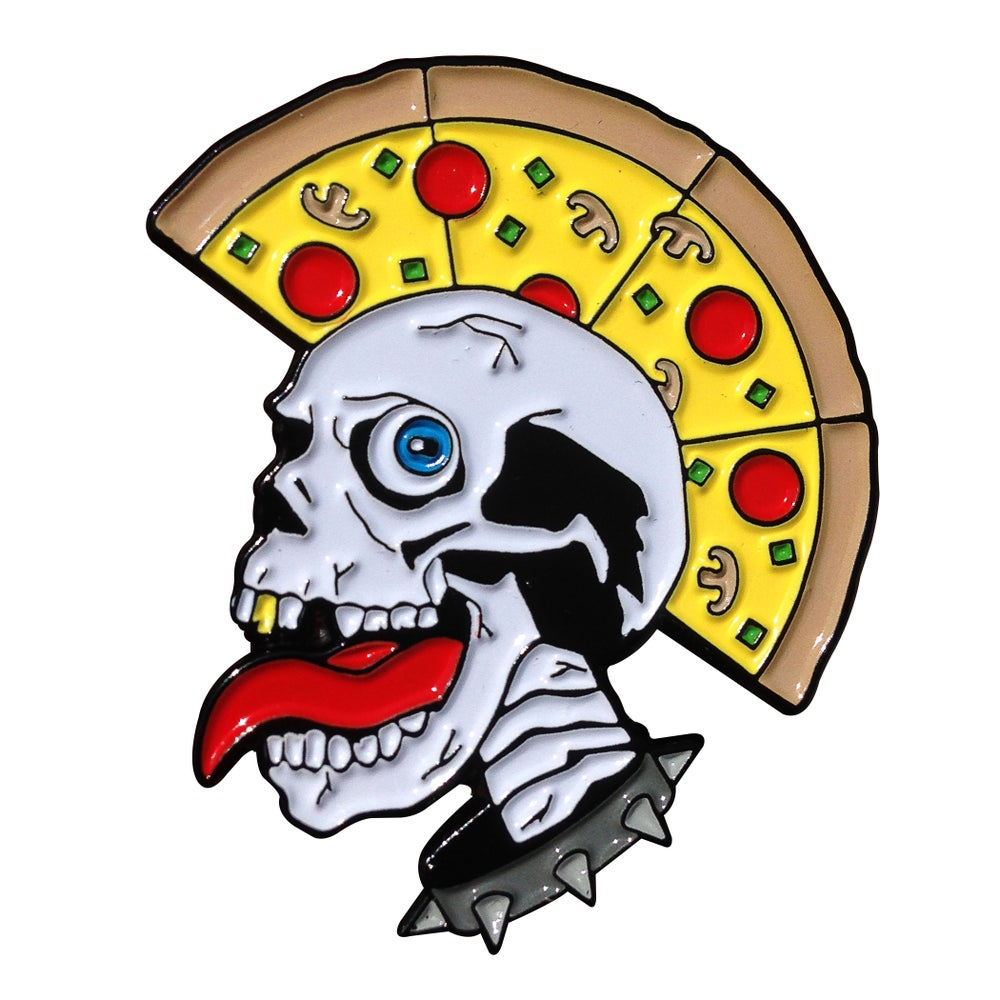 Image of Pizza's Not Dead Pin