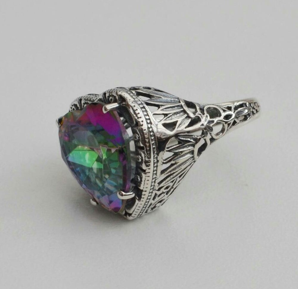 Image of - SILVER SCREEN - Alabama Ring
