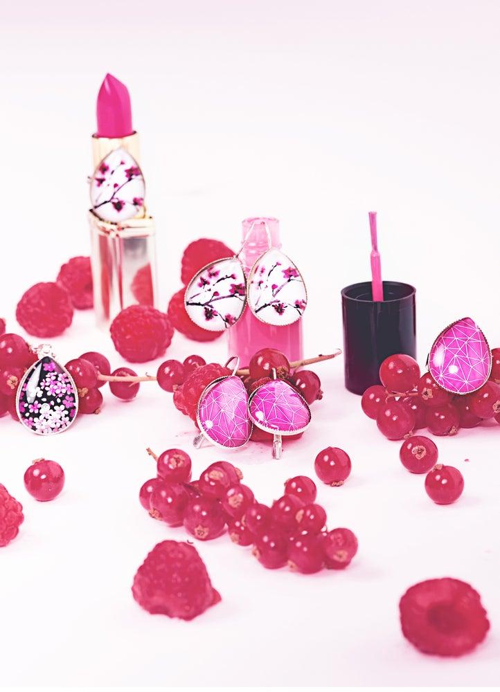 Image of Les bijoux gouttes Roses