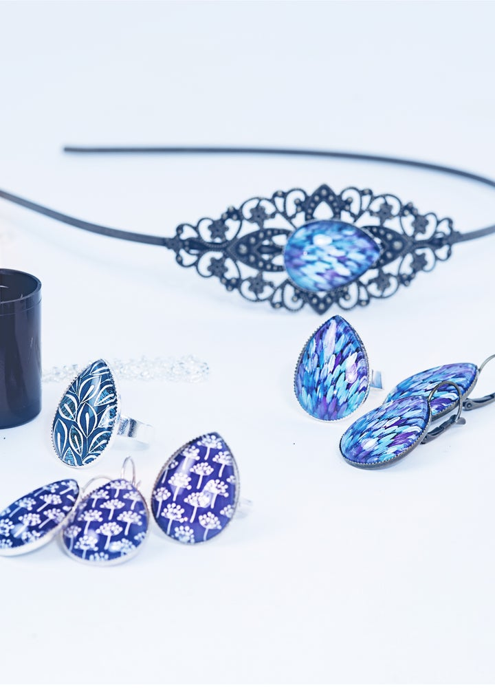 Image of Les bijoux Bleus