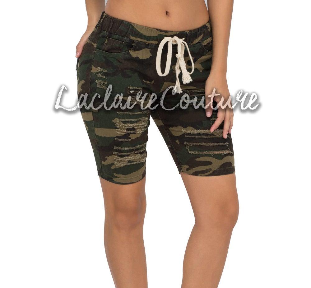 Image of camo shorts