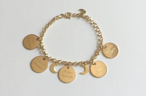 Image of Bracelet à personnaliser - Multi médailles