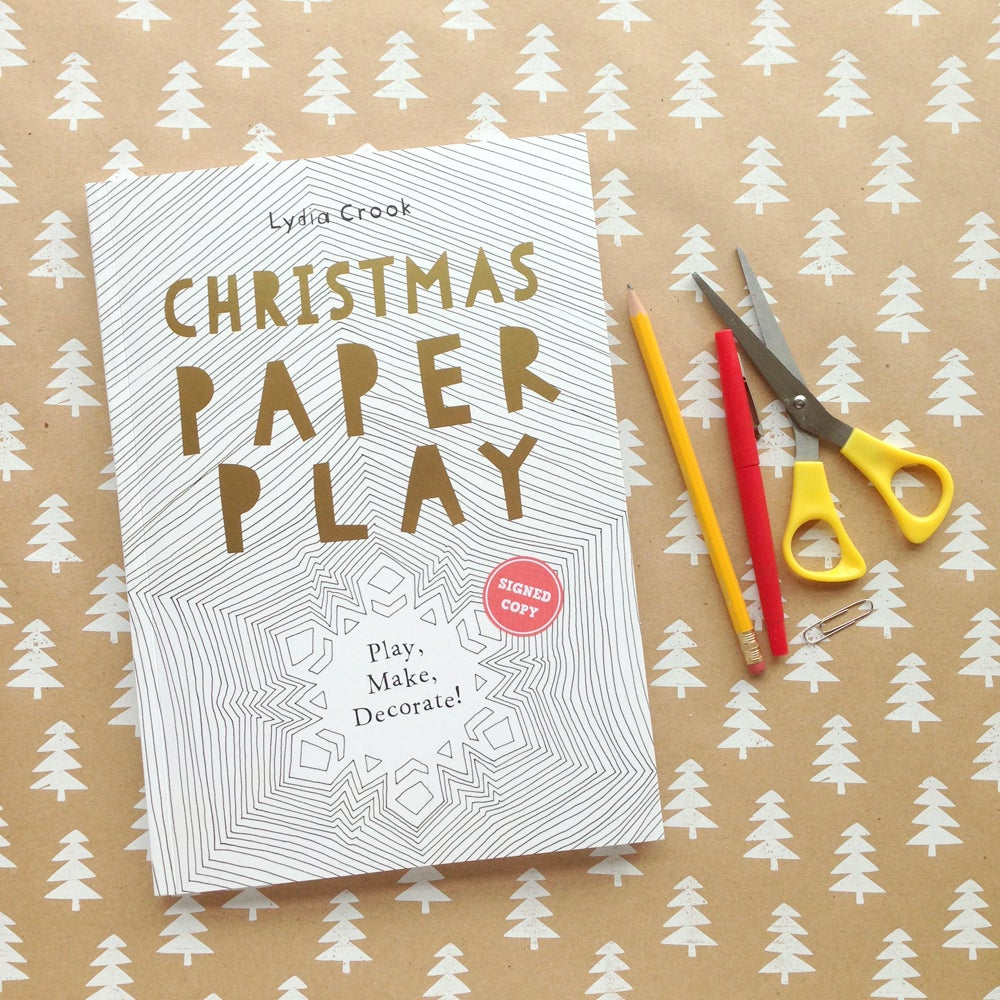 Image of CHRISTMAS PAPER PLAY - signed copy