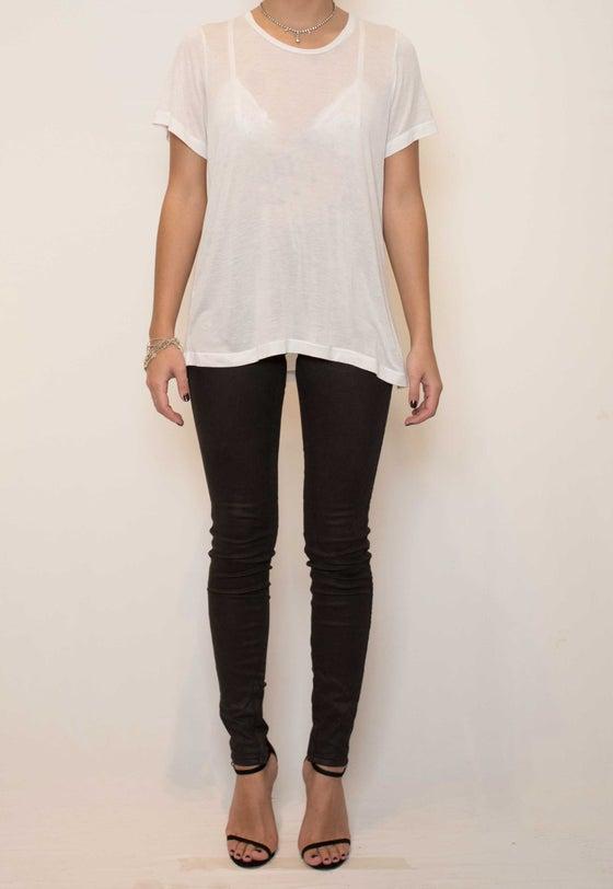 Image of Basic Oversize tee - white
