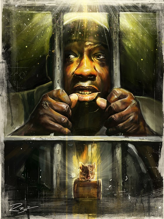 Image of Green Mile Alternative Film Poster