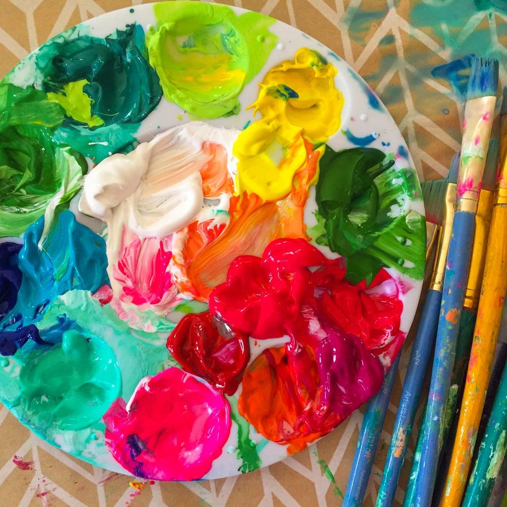 Image of Pretty Palette Canvas