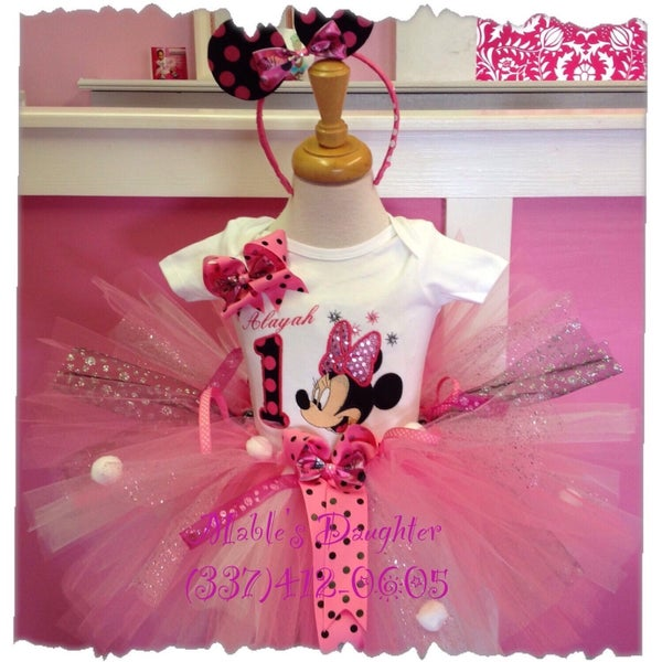 Image of Minnie Lots of Fun Tutu Set