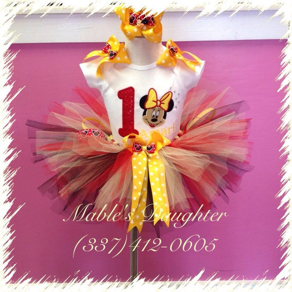 Image of The Classic Minnie Tutu Set