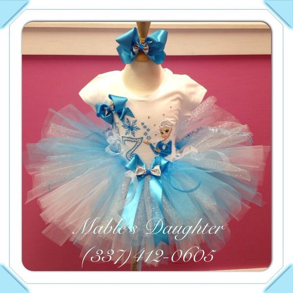 Image of Frozen Tutu Set