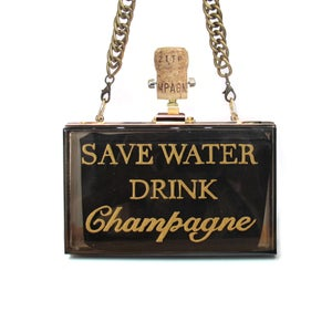 Image of SAVE WATER|  Clutch | $288USD