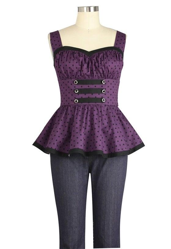 Image of Polka Polka in Purple
