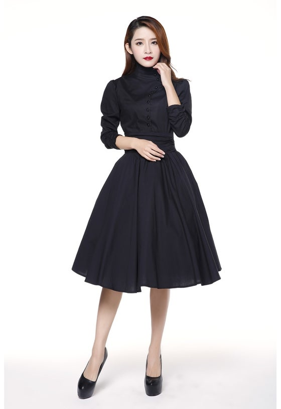 Image of Lady Amber in Black