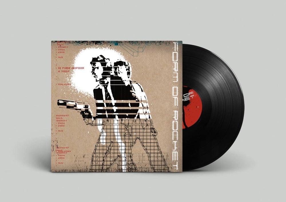 """Image of Form of Rocket - Se Puede Despedir A Todos - """"Limited Edition"""" 12"""" Vinyl Record"""