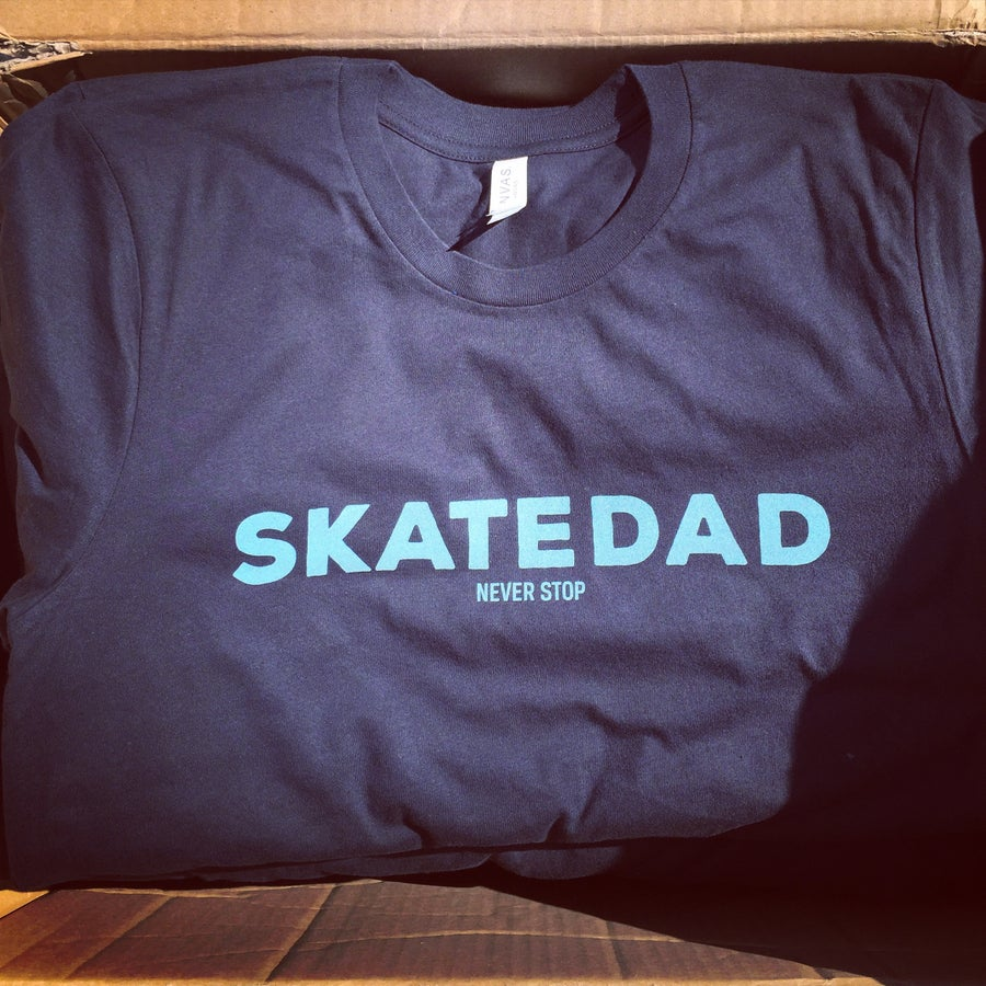 Image of BASD Badass Skatedad T shirt NEW