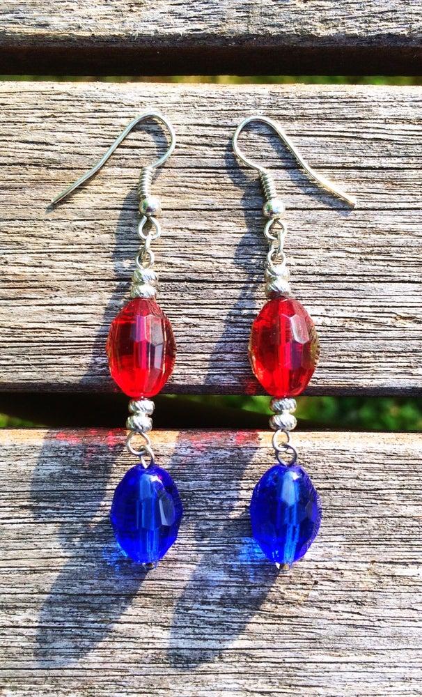 Image of Glass Firecracker Earrings