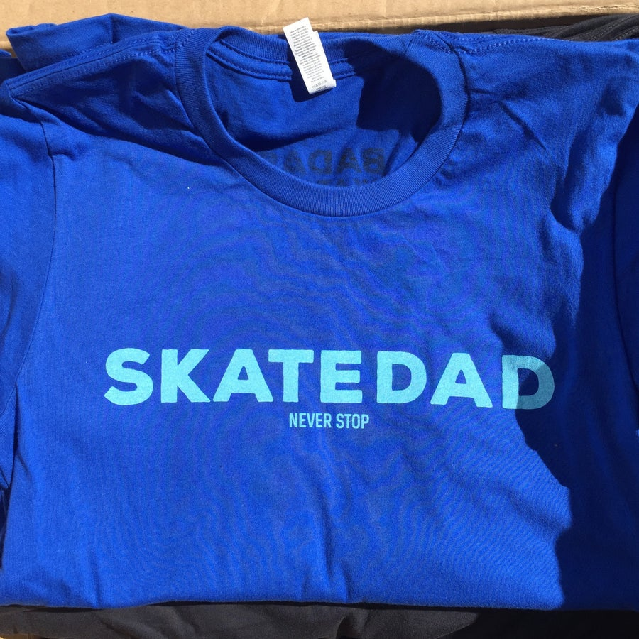Image of Skatedad Never Stop  True Royal