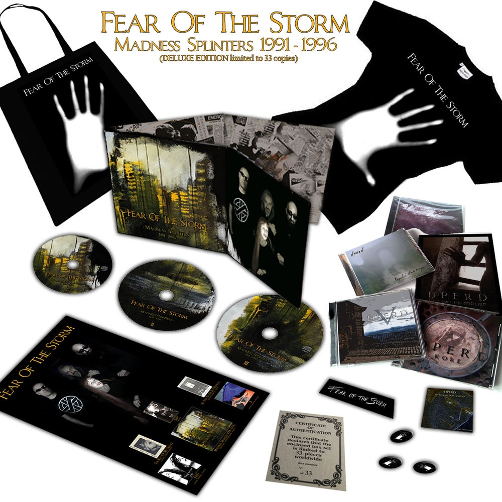 "Image of FEAR OF THE STORM ""Madness Splinters (1991-1996)"" DELUXE EDITION"