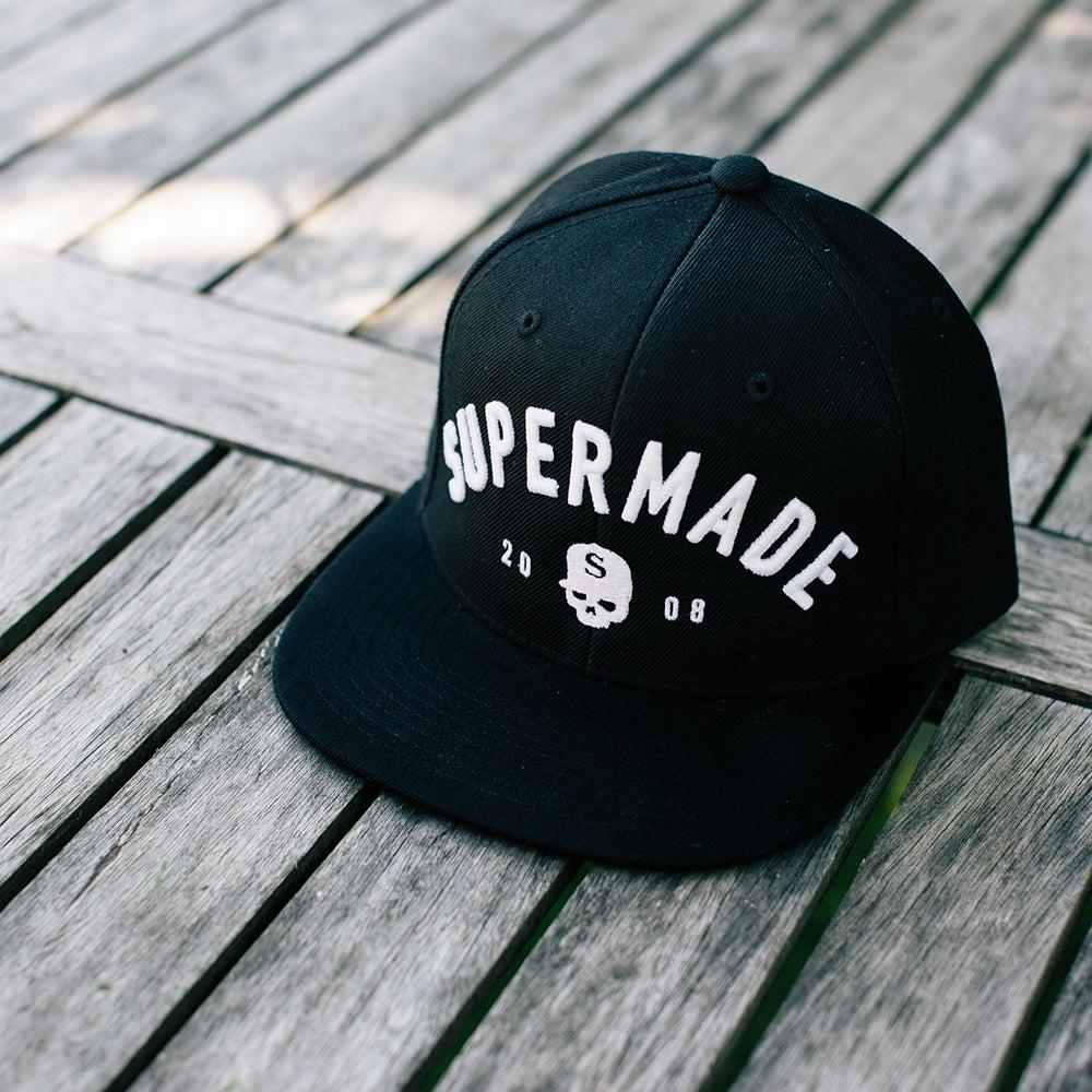 Image of Supermade Snapback BLACK
