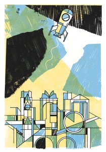 Image of LIFT-OFF! Art Print