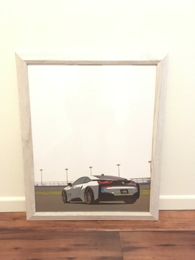 Image of BMW I8 ART 16X20