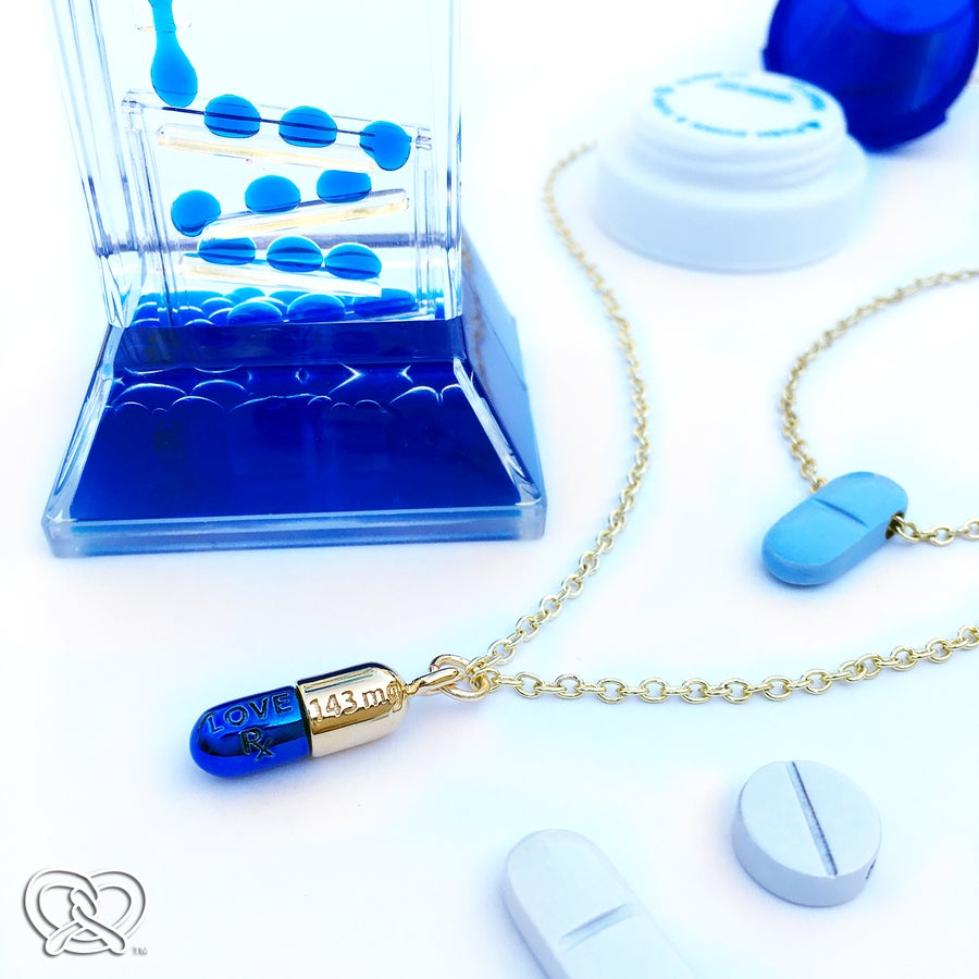 Image of Love Pill (14K Gold Plated)
