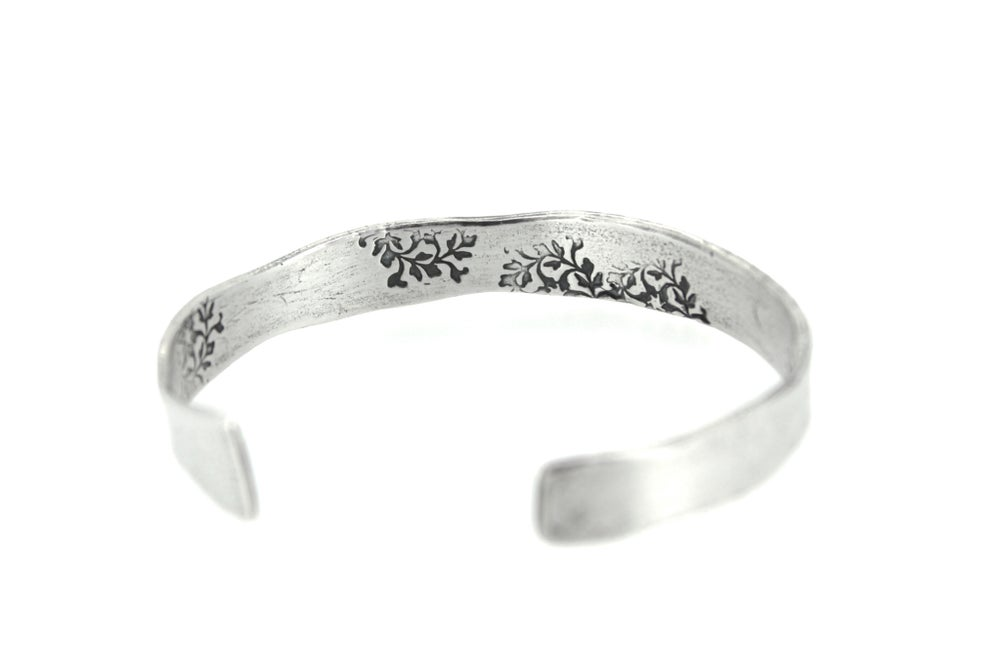 Image of wuthering heights quote cuff . sterling silver cuff . Cuff-4