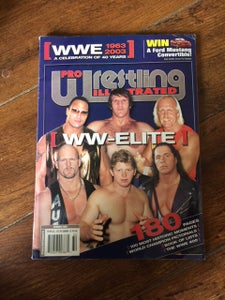 Image of PWI 'PRO WRESTLING ILLUSTRATED' 40 YEARS OF WWE MAGAZINE