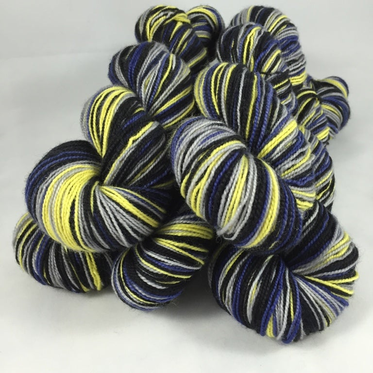 Image of Renegade: Superwash Boot Strap BFL Self Striping Sock Yarn