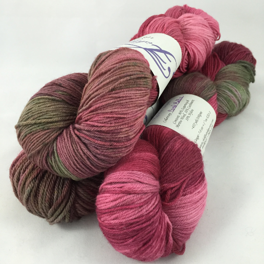 Image of Coral Bells: Superwash Hand Painted assorted fingering bases