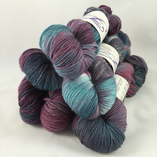Image of Spellbound: Kettle Dyed Superwash Warm Heart fingering