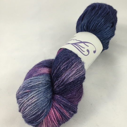 Image of Moonlit Path: Kettle Dyed Serenity fingering