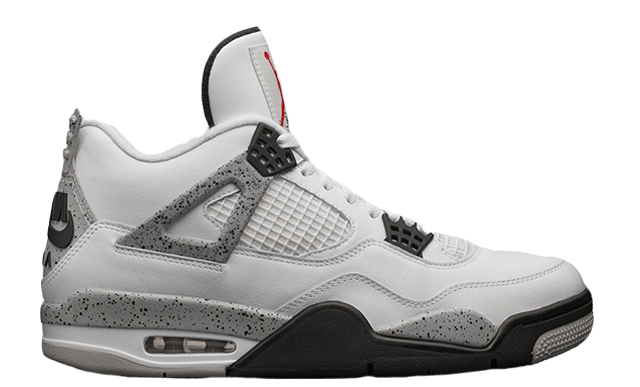 Image of Air Jordan 4 Retro OG 'White Cement' 2016