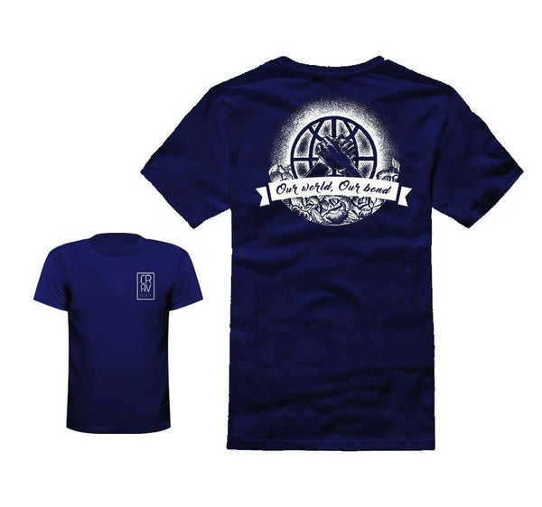 """Image of T-Shirt """"Our World, Our Bond"""""""