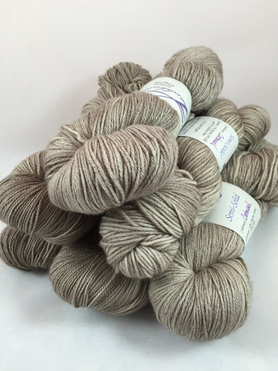 Image of Oatmeal: fingering or DK weight, assorted bases