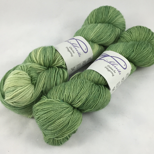 Image of Mint: Superwash Divine MCN or sparkly Panache Fingering