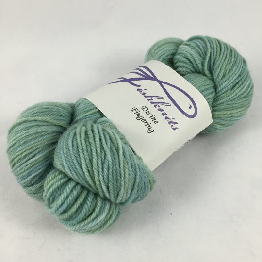 Image of Niagara: Superwash Divine MCN fingering weight Buddy Skein, 217 yards, 50 grams