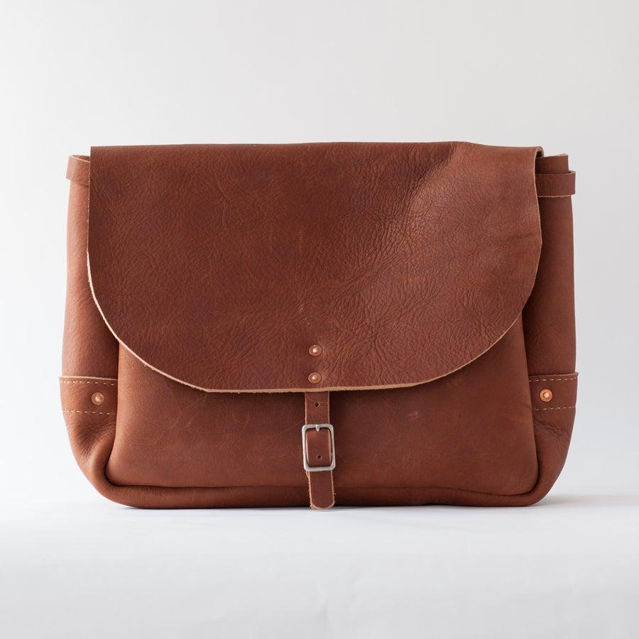 Image of Tan Post Bag