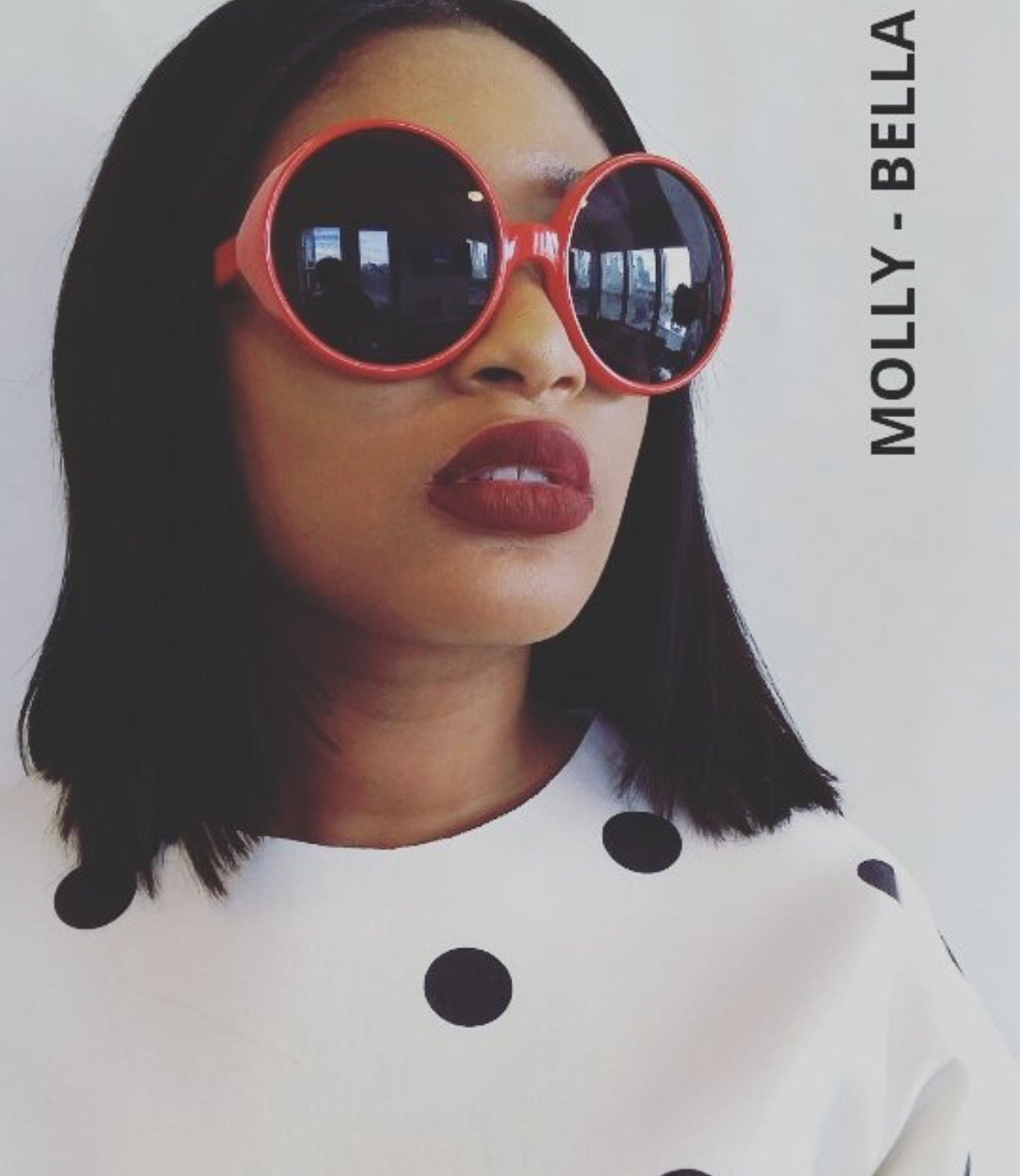 Image of MOLLYS OVERSIZED FRAMES (tinted)