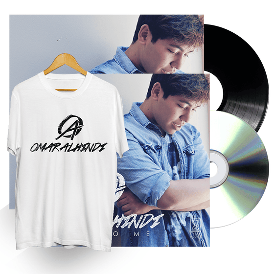 "Image of ""Back to Me"" SIGNED DELUXE FAN BUNDLE (White)"
