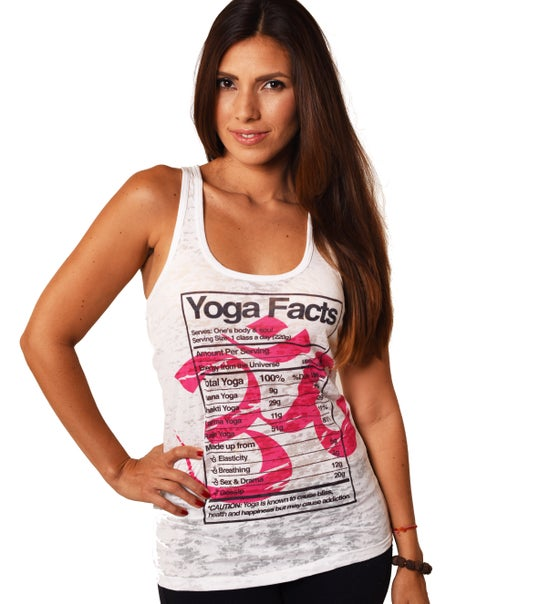 Image of YOGA FACTS BURNOUT RACER FY005P-GRT-WH