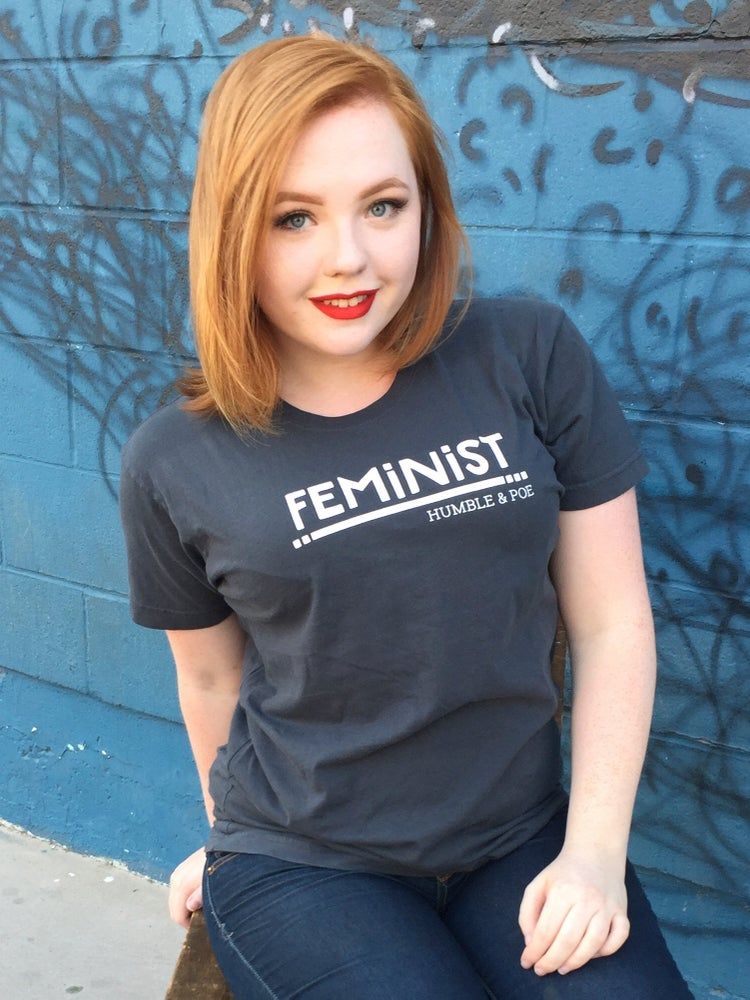 Image of Feminist T-shirt | 100% Cotton | Made in Los Angeles