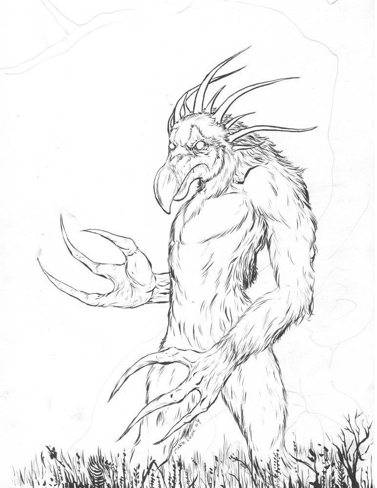 Image of Creature design