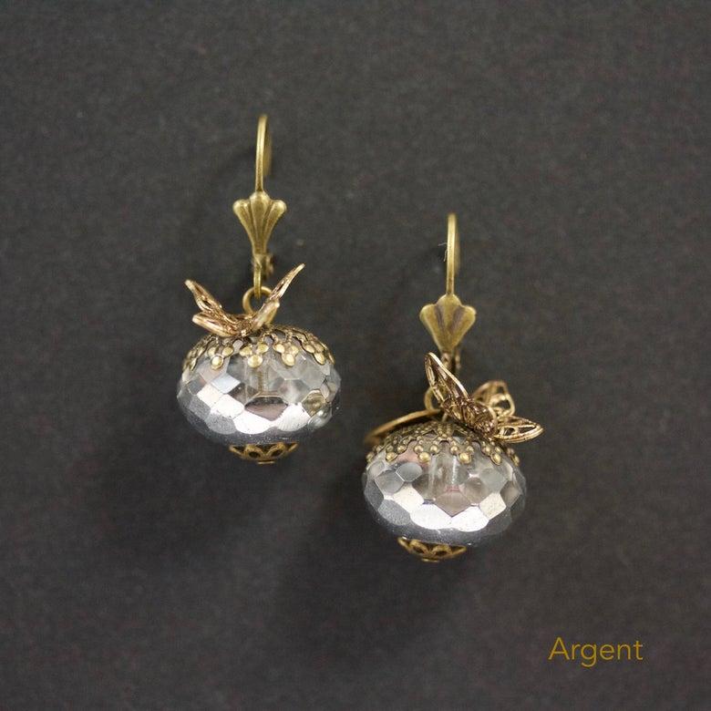 Image of Les Éphémères - Boucles d'oreille  métal