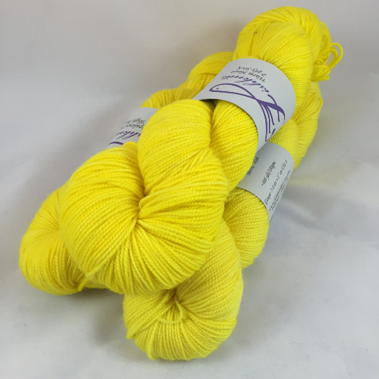 Image of Laser Lemon: Superwash Warm Heart or Opulence MCN Fingering
