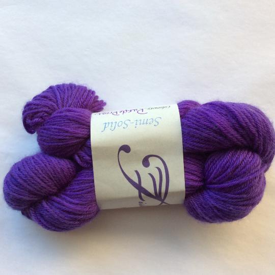 Image of Purple Prose: Superwash Divine MCN Fingering, Buddy Skein (1/2 skein)