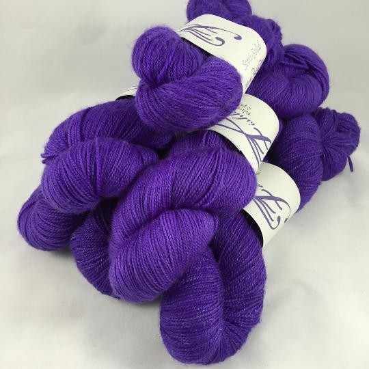 Image of Purple Prose: Superwash Warm Heart or Opulence MCN Fingering